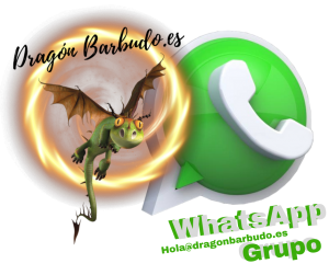 WhatsApp dragon barbudo